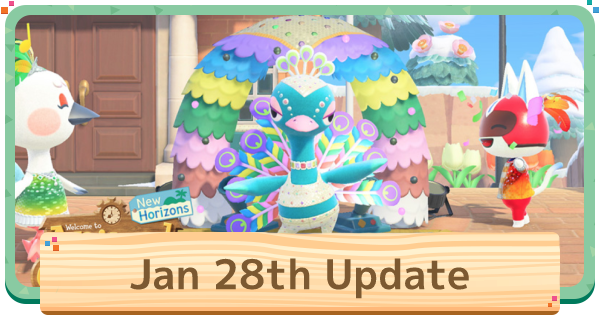 ACNH | January Update - Release Date | Animal Crossing - GameWith