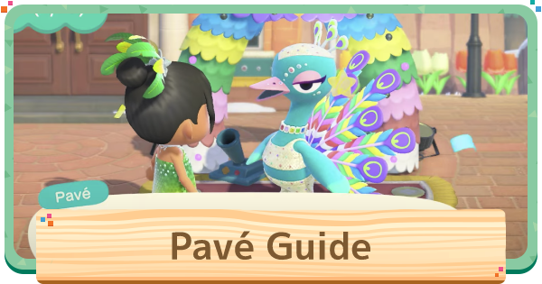 ACNH | Pave - Event & Date | Animal Crossing - GameWith