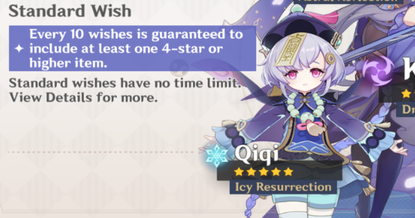 Genshin Impact | Banner For Qiqi - Release Date & 4 Star Characters - GameWith