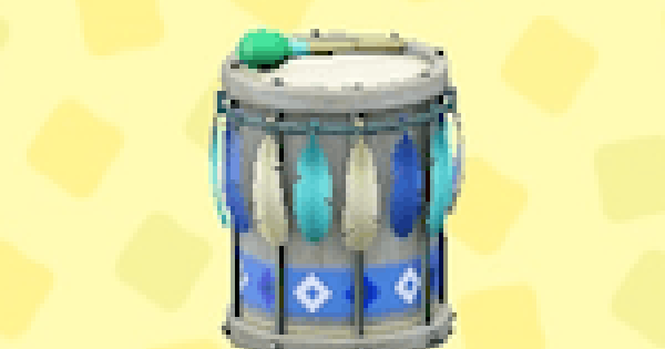 ACNH   Festivale Drum - How To Get   Animal Crossing - GameWith