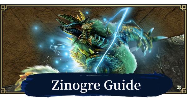 Zinogre - Weakness & Quest Guide