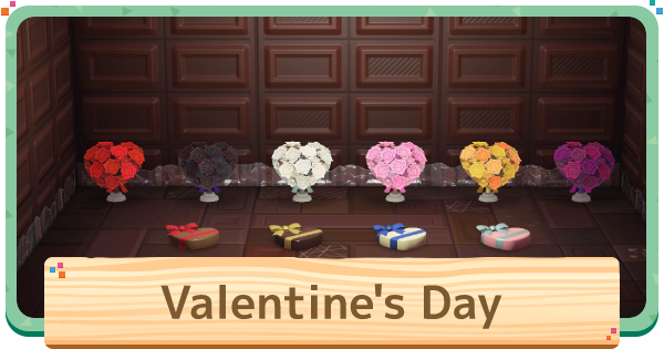 ACNH | Valentine's Day - Items & Update | Animal Crossing - GameWith