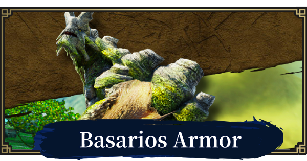MONSTER HUNTER RISE   Basarios Armor & Weapons   MH Rise - GameWith