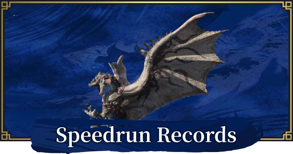 MONSTER HUNTER RISE | Speedrun Guide - List Of Runs | MH Rise - GameWith