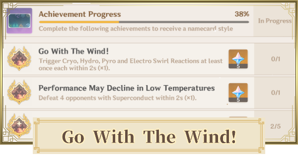 Go With The Wind! - Achievement Guide & How To Do | Genshin Impact - GameWith