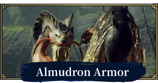 MONSTER HUNTER RISE | Almudron Armor & Weapons | MH Rise - GameWith