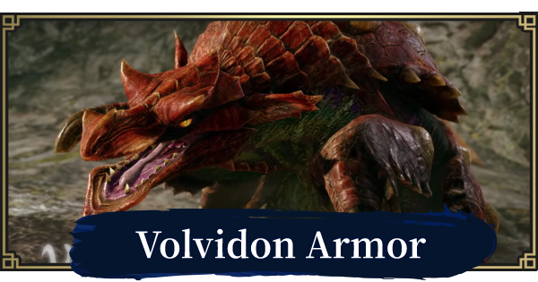 MONSTER HUNTER RISE | Volvidon Armor & Weapons | MH Rise - GameWith