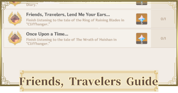 Friends, Travelers, Lend Me Your Ears - Achievement Guide | Genshin Impact - GameWith