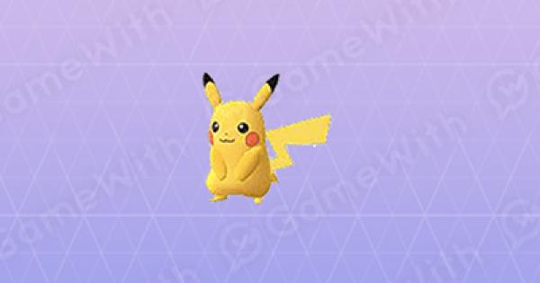 Pokemon Go | Pikachu - Stats, Best Moveset & Max CP