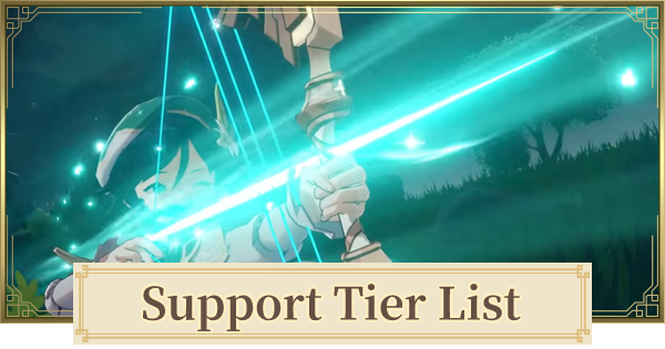Best Support Character List | Genshin Impact - GameWith