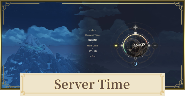 Server Time Guide - Timezones