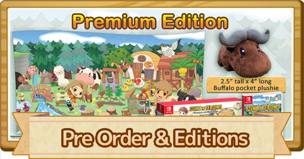 Pre Order Bonus & Editions Guide | Story of Seasons Pioneers of Olive Town (SoS PoOT) - GameWith