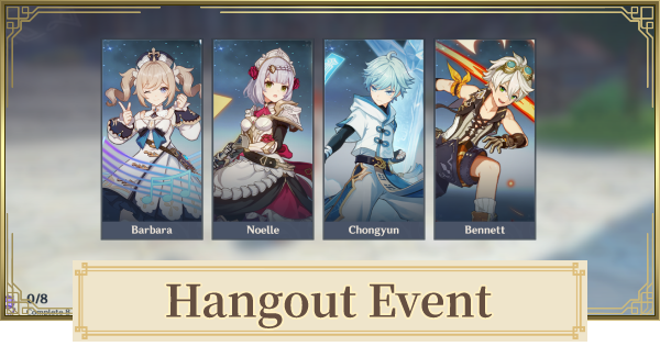Hangout (Date) Events : Series 1 (I) - Release Date & Choices (Endings) | Genshin Impact - GameWith