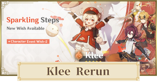 Genshin Impact | Klee Rerun Banner - Featured 4 Star Characters & Should You Pull? - GameWith