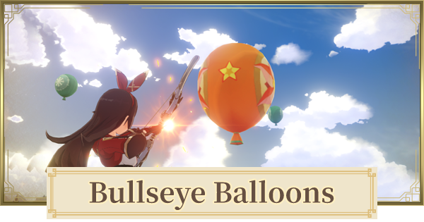 Bullseye Balloons Guide - How To Play | Genshin Impact - GameWith