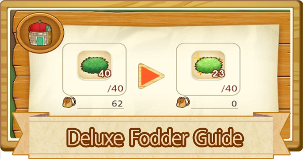 Deluxe Fodder - How To Get | Story of Seasons Pioneers of Olive Town (SoS PoOT) - GameWith