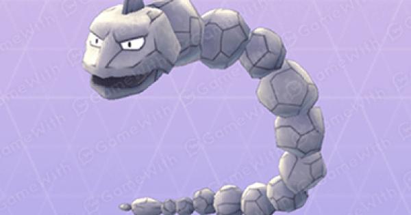 Pokemon Go | Onix - Stats, Best Moveset & Max CP