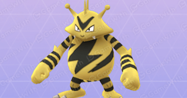 Pokemon Go | Electabuzz - Stats, Best Moveset & Max CP - GameWith