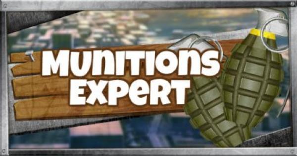 Fortnite | MUNITIONS EXPERT (MUNITIONS EXPERT GUIDE)