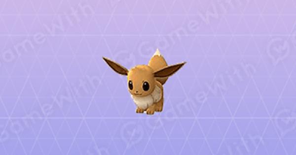 Pokemon Go | Eevee - Stats, Best Moveset & Max CP