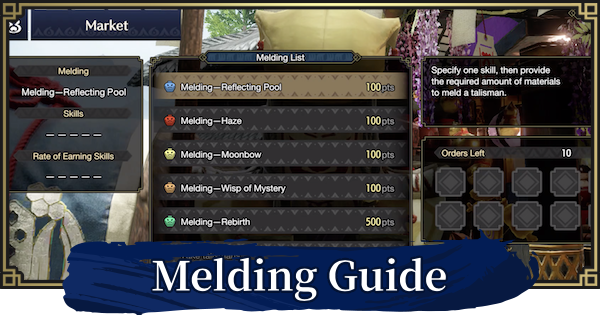 Melding Pot Guide - How To Unlock & Use | MONSTER HUNTER RISE - GameWith