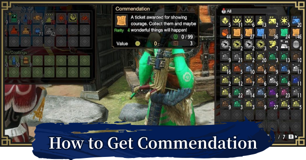 MH Rise | Commendation - How To Get | MONSTER HUNTER RISE (MHR) - GameWith