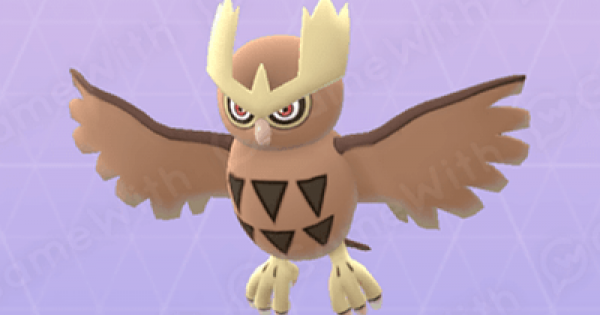 Pokemon Go | Noctowl - Stats, Best Moveset & Max CP - GameWith