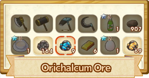 Orichalcum Ore - How To Get & Use  | Story of Seasons Pioneers of Olive Town (SoS PoOT) - GameWith