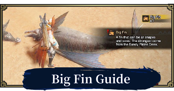 Big Fin - How To Get & Locations