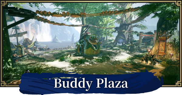 MH Rise   Buddy Plaza Guide - Uses & Facilities   MONSTER HUNTER RISE (MHR) - GameWith
