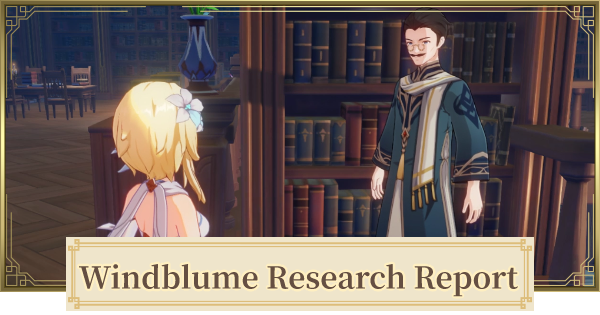 Windblume Research Report - Festive Anecdotes Quest Guide | Genshin Impact - GameWith