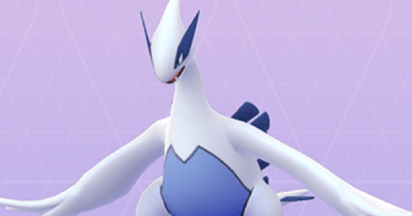 Pokemon Go | Lugia - Stats, Best Moveset & Max CP