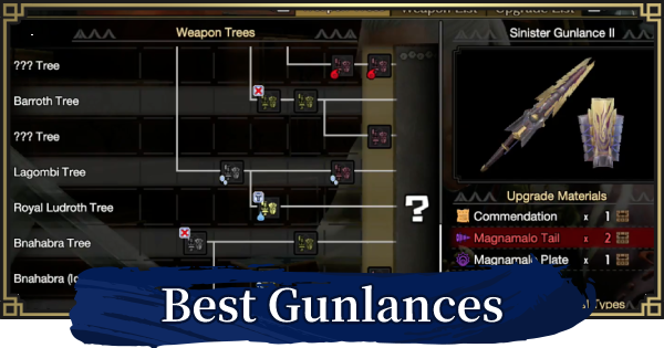 Best Gunlance By Shell Type | MONSTER HUNTER RISE - GameWith