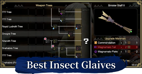 Best Insect Glaive By Element | MONSTER HUNTER RISE - GameWith