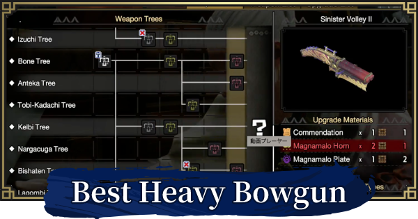 Best Heavy Bowgun (HBG) By Ammo Type | MONSTER HUNTER RISE - GameWith