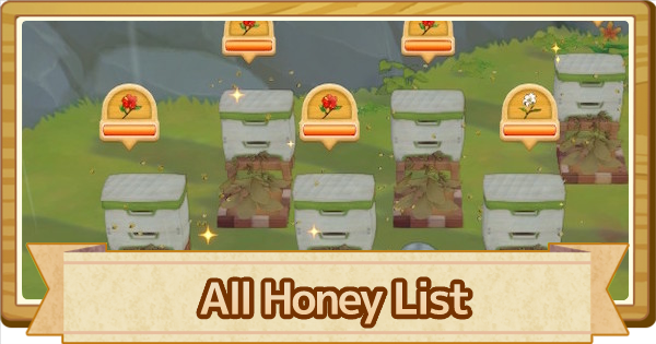 Honey Guide - All Types & How to Make | Story of Seasons Pioneers of Olive Town (SoS PoOT) - GameWith