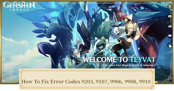 Error Code 9203 - How To Fix