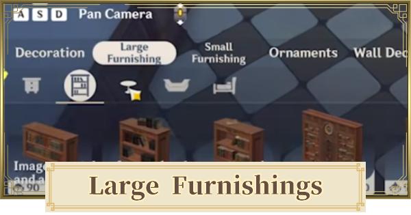 All Large Furnishing List | Genshin Impact - GameWith