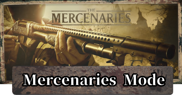 Mercenaries Mode - SS Rank & Is There Coop?