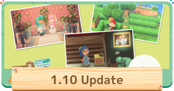 ACNH | 1.10 Update - April Update | Animal Crossing - GameWith