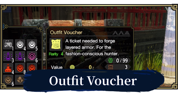 Outfit Voucher - Farming & How To Get