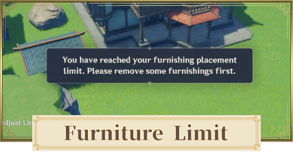 Furniture Placing Limit - How To Increase & Max Size