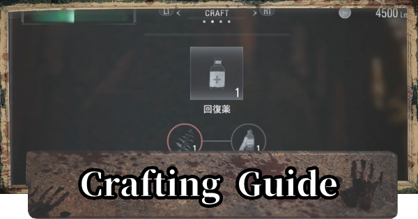 All Crafting Recipes Guide