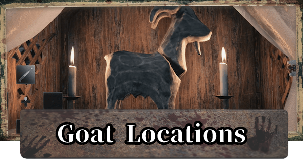 Goats of Warding Locations
