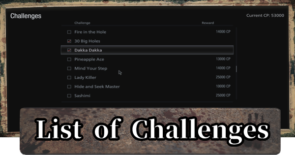 Challenges & Rewards