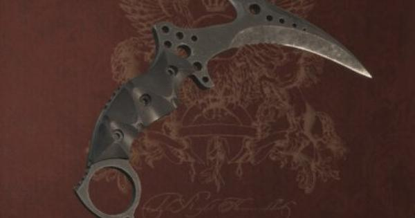 RE8   Karambit Knife - Stats, Attachments & Where To Find   Resident Evil Village (RE Village) - GameWith
