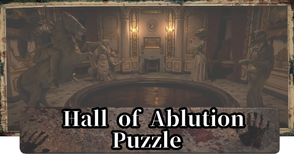 RE8 | Statue Puzzle - Blood Pool Solution | Resident Evil Village (RE Village) - GameWith