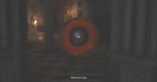 RE8 | Maroon Eye  - How To Get & Use | Resident Evil Village (RE Village) - GameWith