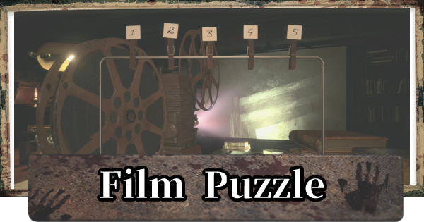 RE8 | Film Puzzle - Film Order & Projector | Resident Evil Village (RE Village) - GameWith