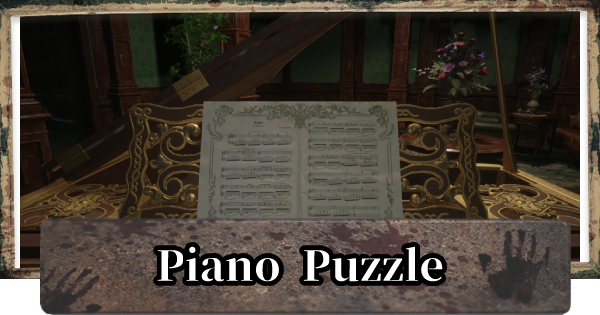 Piano Puzzle - Key & How To Solve In Opera Hall